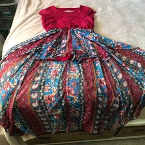 Other - 😊😊Super cute girls jumper with skirt. Size 16.